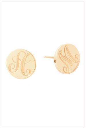 Ariel Gordon Jewelry Signet Coin Earrings