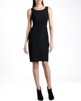 St. John Boucle-Knit Dress