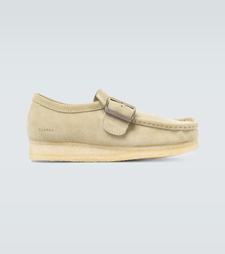Clarks Wallabee Monk suede shoes