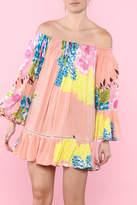 Z&L Europe Floral Off-Shoulder Dress
