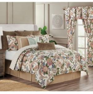 Rose Tree Audrey 4 Piece King Comforter Set Bedding