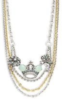 Gerard Yosca Crown Statement Necklace