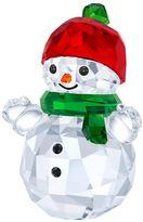 Stefanie Nederegger Snowman with Red Hat