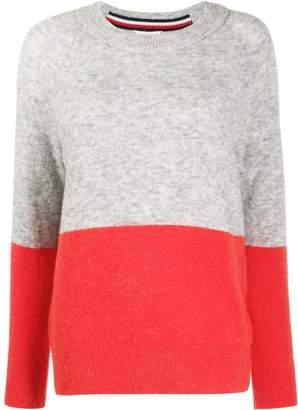 Tommy Hilfiger colour-block jumper