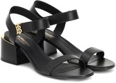 Burberry Hollywell leather sandals