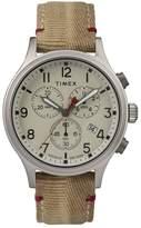 Timex R) Allied Canvas Strap Watch, 42mm