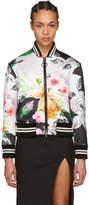 Off-White Multicolor Duchesse Varsity Jacket