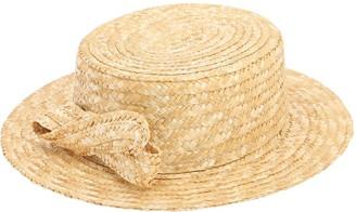 Mi Mi Sol Straw Hat W/ Bow