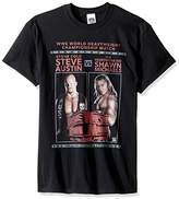 WWE Men's Steve Austin Vs Shawn Michaels T-Shirt