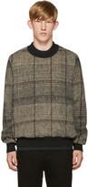 Stephan Schneider Black & Beige Check Sweater