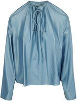 Balenciaga Drawstring Blouse