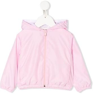 Versace Zip-Up Hooded Jacket