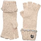 Betsey Johnson On the Rocks Half Finger Gloves