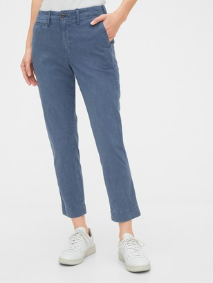 Gap High Rise Straight Pants
