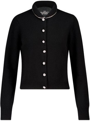 Marc Jacobs The Jeweled Button wool-blend cardigan