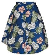 Pinko Pineapple Jacquard Skirt