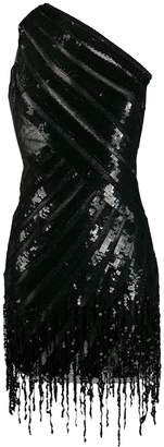 Elisabetta Franchi sequin embellished asymmetric dress