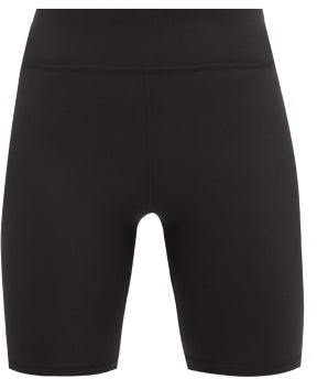 The Upside High-rise Stretch-jersey Cycling Shorts - Black