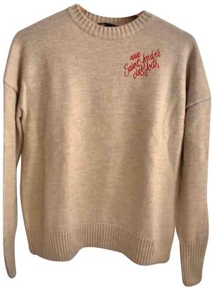 Maje Fall Winter 2019 Beige Wool Knitwear for Women