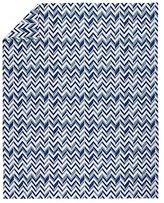 Twin Little Prints Duvet Cover (Blue Zig Zag)