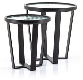 By Boo Cross Legs 2 Nesting Tables