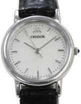 Seiko Credor White Gold Quartz 21mm Womens Watch