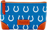 Dooney & Bourke NFL Colts Cosmetic Case