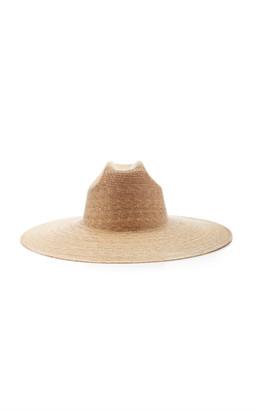 LACK OF COLOR Western Wide-Brimmed Palm Leaf Hat