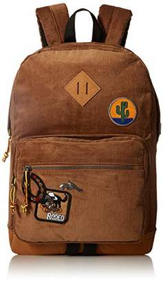 Steve Madden Corduroy Patch Backpack