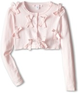 Biscotti Forever Young Bows Sweater (Big Kids)