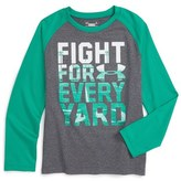 Under Armour Fight for Every Yard Raglan Shirt (Toddler Boys & Little Boys)