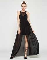 BCBGMAXAZRIA Bcbgeneration Contrast Maxi Dress