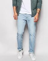 Lee Jeans Powell Slim Fit Low Waist Summer Wind Light Wash