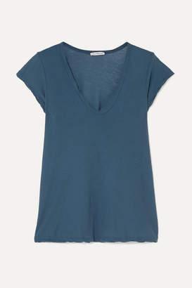 James Perse Cotton-jersey T-shirt - Teal