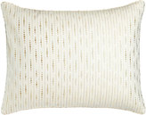 Jane Wilner Designs Standard Ivory Sham with Embroidery