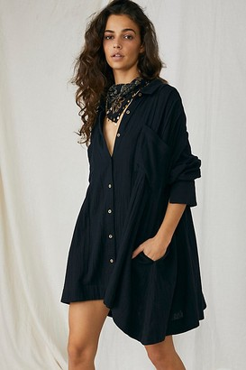 Free People The Voyager Shirtdress