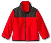 Weathertamer Weather Tamer Toddler Boys' Reversible Fleece Jacket - Red