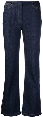 Fendi High-Rise Kick-Flare Jeans