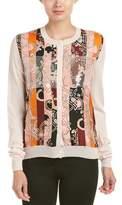 Emilio Pucci Printed Wool & Silk Cardigan.
