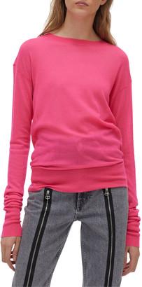 Helmut Lang Neon Stitch Crewneck Sweater