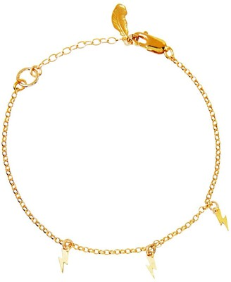 Harry Rocks Mini Bolt Charm Bracelet Gold