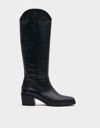 Vagabond Shoemakers Simone Tall Leather Boot in Black