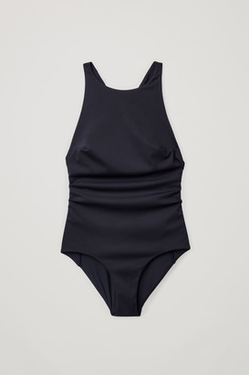 Cos Swimsuit With Cross-Over Back
