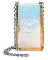 Kenzo Iridescent PVC Phone Chain Crossbody Holder