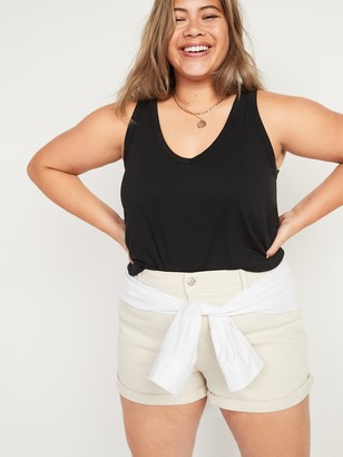 Old Navy Luxe Plus-Size V-Neck Tank Top