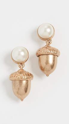 Tory Burch Acorn Charm Earrings