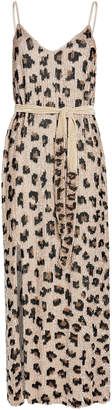 retrofete Rebecca Sequin-Embellished Slip Dress