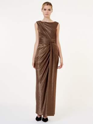 Hobbs Mia Maxi Dress - Gold