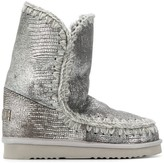 Mou lined interior boots