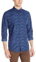 Calvin Klein Jeans Men's Digital Streak Print Shirt